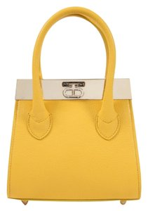 Dee Ocleppo Tote in Yellow
