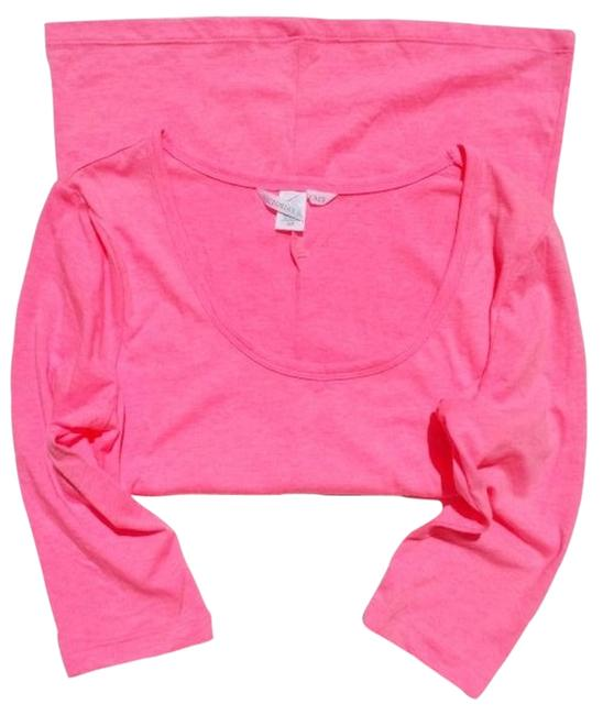Preload https://item5.tradesy.com/images/victoria-s-secret-pink-new-vs-round-neck-blouse-size-4-s-560589-0-0.jpg?width=400&height=650