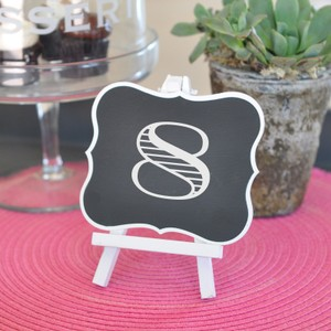 Event Blossom Chalkboard Frames with Easels Great For Table Numbers Or Decor Reception Decoration