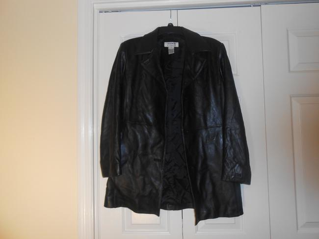 Alfani black Leather Jacket