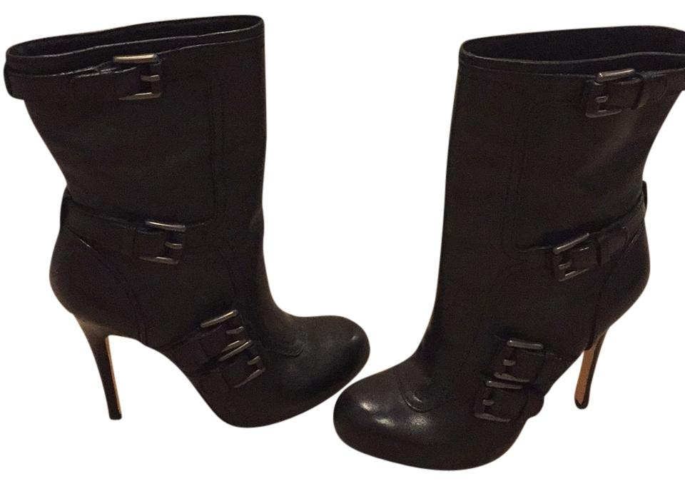 2d97f5b1dc0 Black Leather Boots/Booties