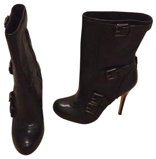 Coach Black Leather Boots Image 1