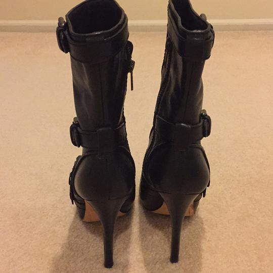 Coach Black Leather Boots Image 3