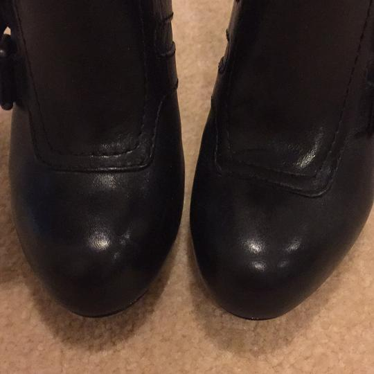 Coach Black Leather Boots Image 5