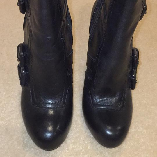 Coach Black Leather Boots Image 7