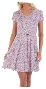 French Connection short dress Multicolor Floral on Tradesy