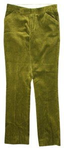 Chaiken Corduroy Straight Pants Green