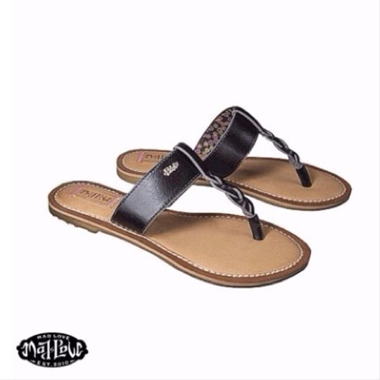 Mad Love Black Sandals
