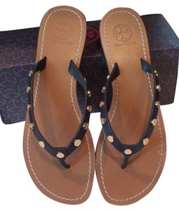 Tory Burch Bright Navy/420 Sandals