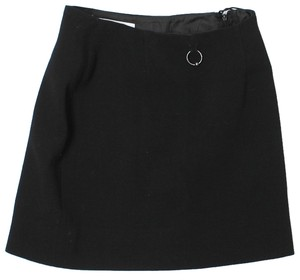 Moschino Wool Mini Skirt Black