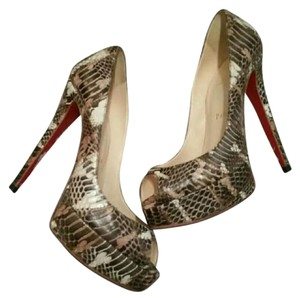 Christian Louboutin Phython Pumps