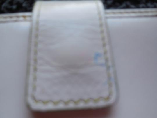 Hype Hype White with Lime Green Checkbood Wallet
