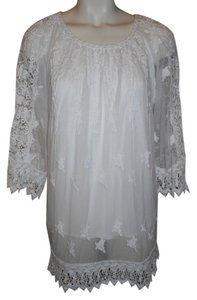 Chico's Lace Sheer Tunic