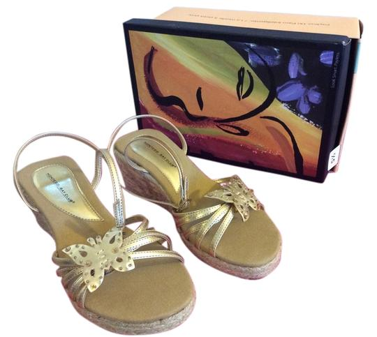 Preload https://item5.tradesy.com/images/montego-bay-club-gold-tan-and-beige-wedges-5609074-0-0.jpg?width=440&height=440