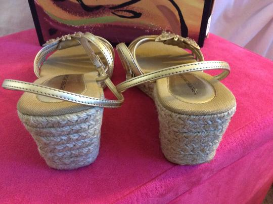 Montego Bay Club Sandals Sandals Sandals Gold , tan and beige Wedges