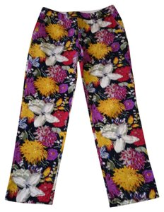 Anthropologie Capris Floral