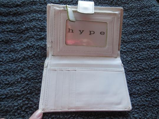 Hype Hype White Leather Credit Card Wallet