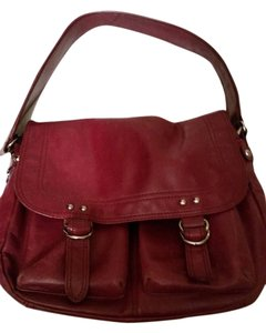 Nordstrom Satchel in Dark Magenta