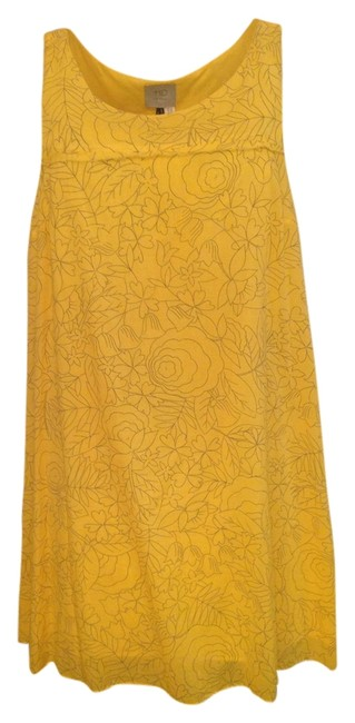 Preload https://item2.tradesy.com/images/anthropologie-yellow-short-casual-dress-size-00-xxs-5609671-0-0.jpg?width=400&height=650