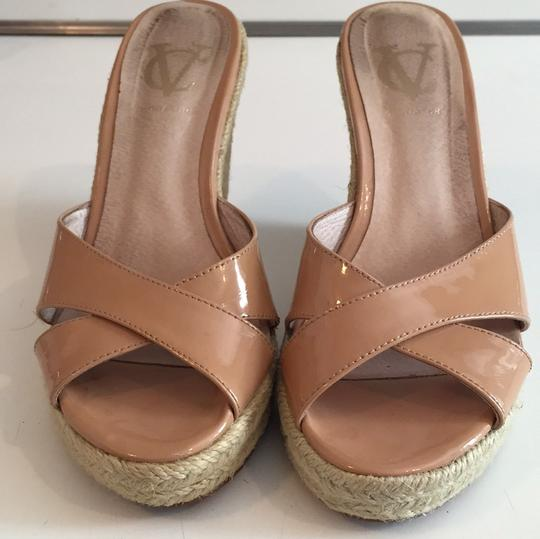 Vince Camuto Nude Wedges
