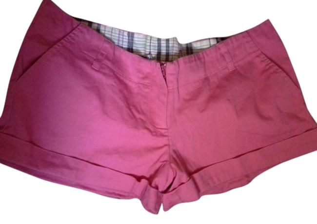 Preload https://item4.tradesy.com/images/charlotte-russe-hot-pink-hotpant-minishort-shorts-size-12-l-32-33-561083-0-2.jpg?width=400&height=650