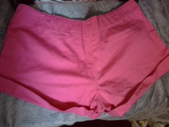 Charlotte Russe Mini/Short Shorts Hot Pink