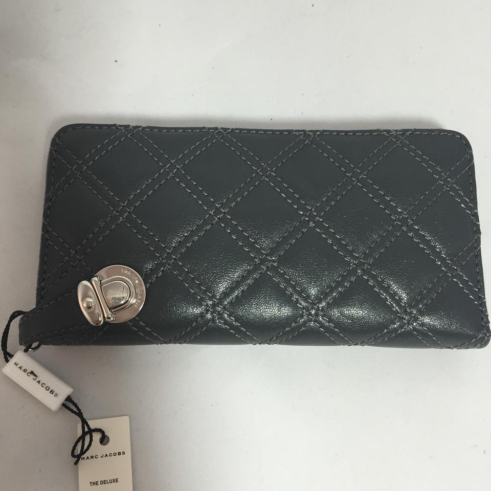 Marc Jacobs Dark Grey Quilted