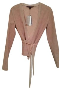 Ralph Lauren Collection Suede Comfortable Silk Cardigan