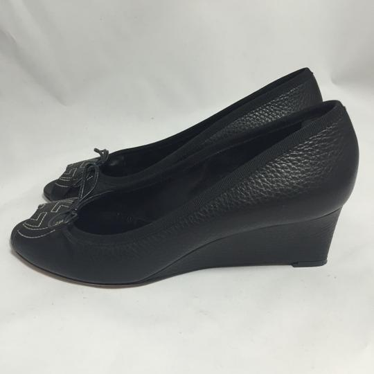 Gucci Black Wedges