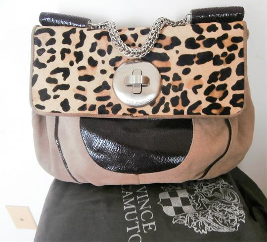 Vince Camuto Bad Vuitton Louboutin Leather Hand Purse Satchel
