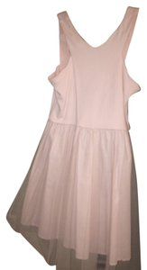 H&M short dress Light Pink and White on Tradesy