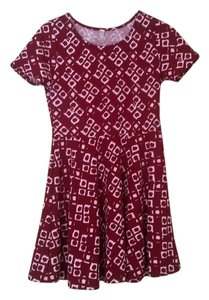 nine bird short dress Burgundy on Tradesy