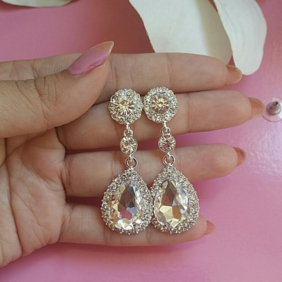 diamond more product rings cz b earrings than stud just diamonds