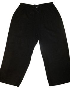 Hot Cotton Straight Pants Black