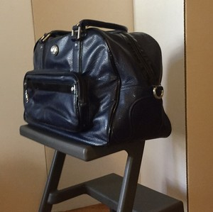 Lululemon Navy Blue Travel Bag