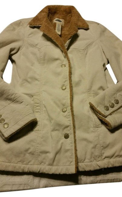 Old Navy Corduroy Fur Coat