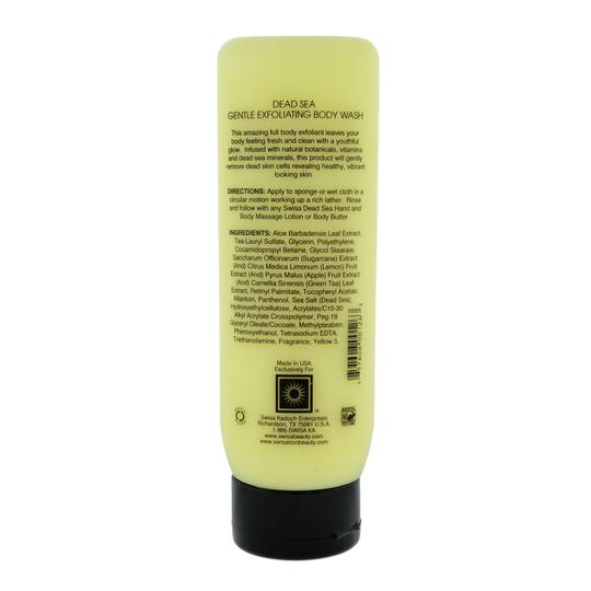 Swisa Beauty Swisa Beauty Sensation Dead Sea Milk & Honey Exfoliating Body Wash 8 Oz.