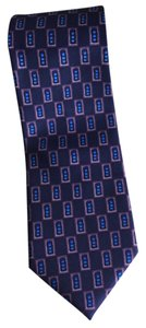 Silk Tie Purple Plum Blue Pink