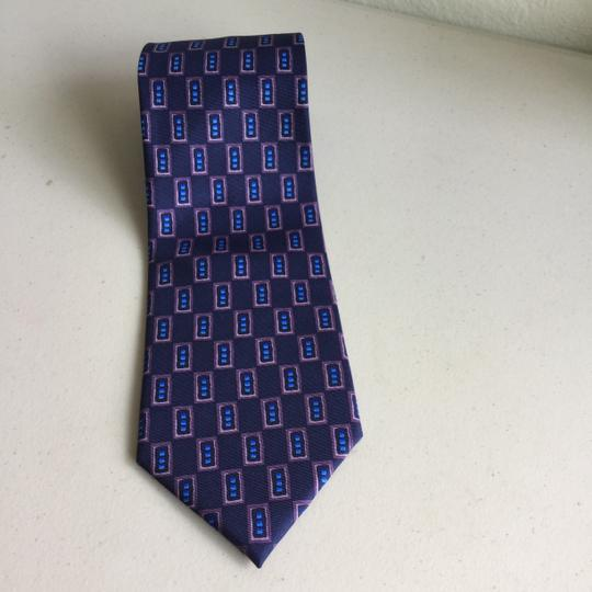 Other Silk Tie Purple Plum Blue Pink
