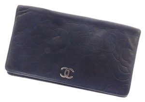 Chanel Leather Black Clutch