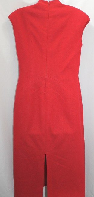 PILAR ROSSI Wool Red Dress