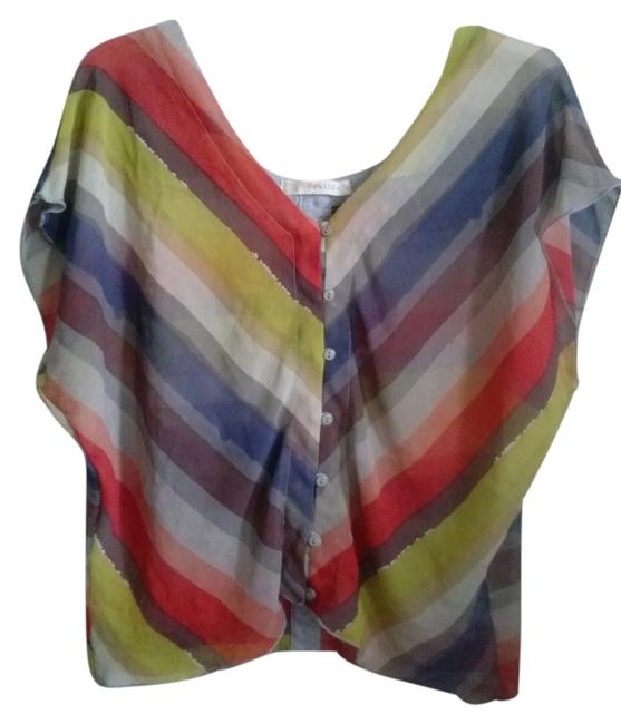 Preload https://item1.tradesy.com/images/rewind-striped-stripes-chevron-bold-top-orangegrayyellow-5614060-0-0.jpg?width=400&height=650
