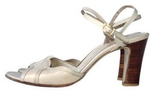 Salvatore Ferragamo off-white Sandals