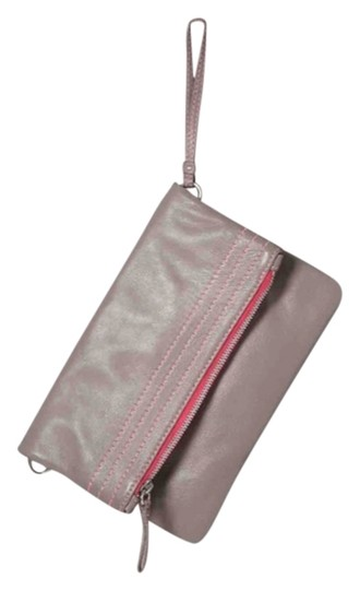Boden Clutch Taupe Gray Cross Body Bag