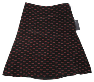 Prada Lip New Skirt Multi