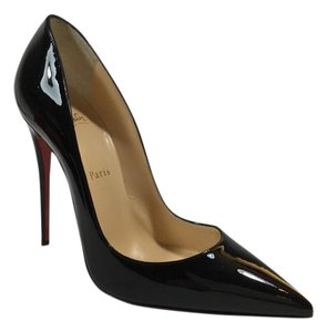 Christian Louboutin So Kate 125mm Patent Black Pumps