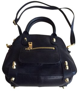 Linea Pelle Satchel in Black