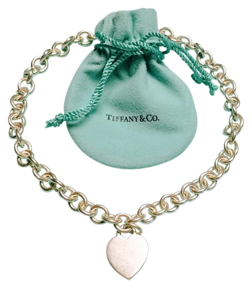 92150dfc2 Tiffany & Co. Heart Charm Toggle necklace Image 0 ...