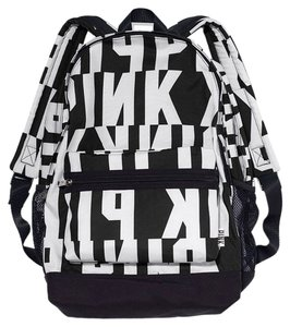 PINK Victoria's Secret Logo Campus Bookbag Backpack