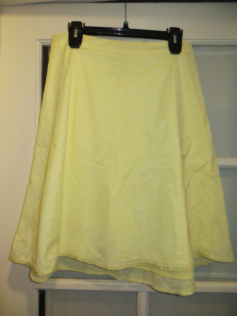 Old Navy A-line Skirt Yellow